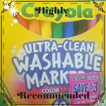 Photo of Crayola 10 Ct Ultraclean Broadline Classic uploaded by Elaina R.
