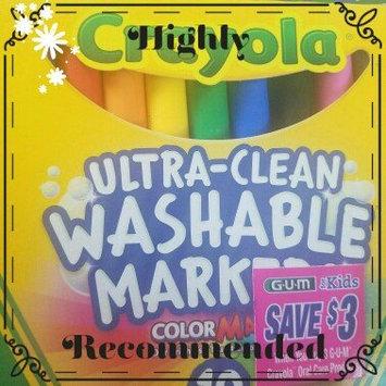 Photo of Crayola 10 Ct Ultraclean Broadline Classic uploaded by Elaina R.