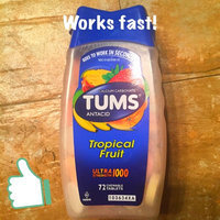 Tums Ultra Strength 1000 Assorted Tropical Fruit Antacid/Calcium Supplement Chewable Tablets - 72 CT uploaded by Ariel M.