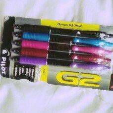 Photo of Pilot 4 Count Fine Assorted Colors Retractable Gel Pens uploaded by Liz S.