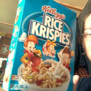 Kellogg's Rice Krispies Cereal uploaded by brandy h.