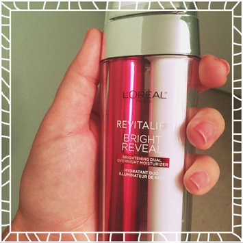 L'Oréal Paris Revitalift Bright Reveal Brightening Dual Overnight Moisturizer uploaded by Sarah S.
