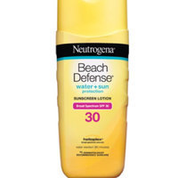 Neutrogena® Beach Defense® Water + Sun Protection Sunscreen Lotion Broad Spectrum SPF 30 uploaded by Samantha B.