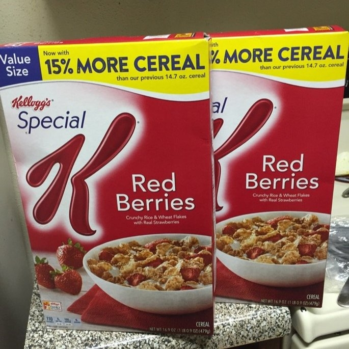 Kellogg's Special K Red Berries Cereal uploaded by Mikita S.