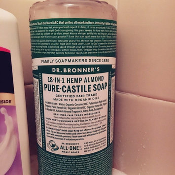 Photo of Dr. Bronner's 18-in-1 Hemp Almond Pure Castile Soap uploaded by Mia H.