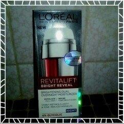 L'Oréal Paris Revitalift Bright Reveal Brightening Dual Overnight Moisturizer uploaded by Kristal F.