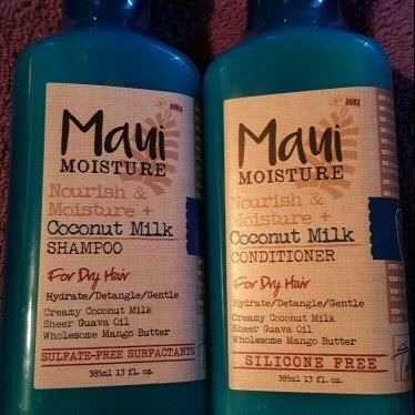 Maui Moisture Nourish & Moisture + Coconut Milk Shampoo uploaded by Chelsea B.