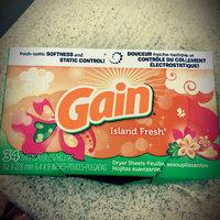 Gain® Island Fresh Fabric Softener Sheets 34 ct Box uploaded by Laritza L.