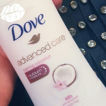 Dove Advanced Care Anti-Perspirant Deodorant, Caring Coconut, 2.6 oz uploaded by Kayla C.