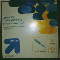up & up Regular Plastic Applicator Unscented Tampons 40-pk. uploaded by Kimmy A.