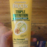 Garnier® Fructis® Triple Nutrition 3 Minute Undo Dryness Reversal Treatment 8.5 fl oz uploaded by Amber G.