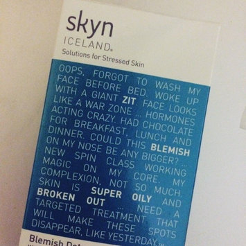 Photo of Skyn Iceland Blemish Dots with Salicylic Acid uploaded by Claire H.