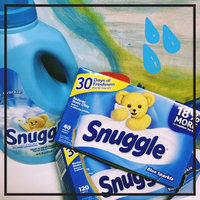 Snuggle Fabric Softener Sheets - Blue Sparkle - 40 CT uploaded by Jessica W.