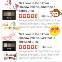 NYX Love In Rio Eyeshadow Palette uploaded by Cez O.