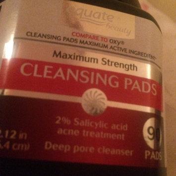 Equate Beauty Maximum Strength Cleansing Pads, 90 count uploaded by Miah J.
