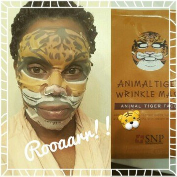 Photo of SNP Animal Tiger Wrinkle Mask Sheet uploaded by Marlena S.
