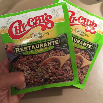 Chi-Chi's® Restaurante Diced Onions Garlic & Green Chilies Seasoning Mix 0.78 oz. Packet uploaded by Wendy C.