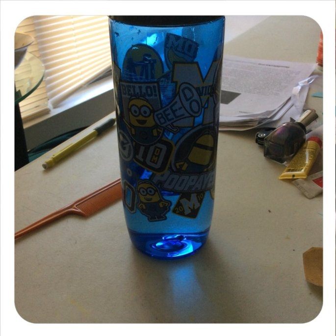 Minions 24oz Straight Wall Chug Bottle, Grey uploaded by Krysta I.