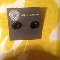 Vince Camuto Gold-Tone Round Stone Stud Earrings uploaded by Nataria G.