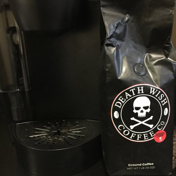 Photo of Death Wish Coffee 16 oz Bag - Ground uploaded by Sharon S.