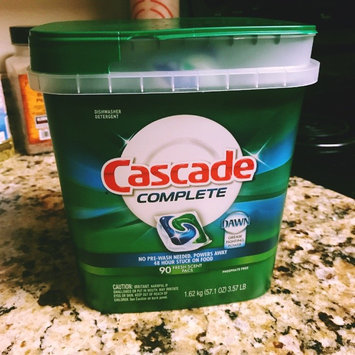 Cascade Complete™ ActionPacs™ Dishwasher Detergent Fresh Scent 90 Ct uploaded by Isabell B.