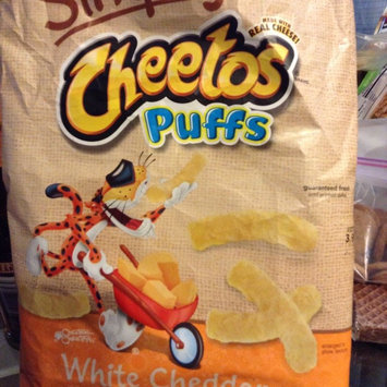 Cheetos Simply Natural White Cheddar Puffs - 6 CT uploaded by Jasmine B.
