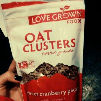 Photo of Love Grown Foods - Oat Clusters Toasted Granola Sweet Cranberry Pecan - 12 oz. uploaded by Katie P.