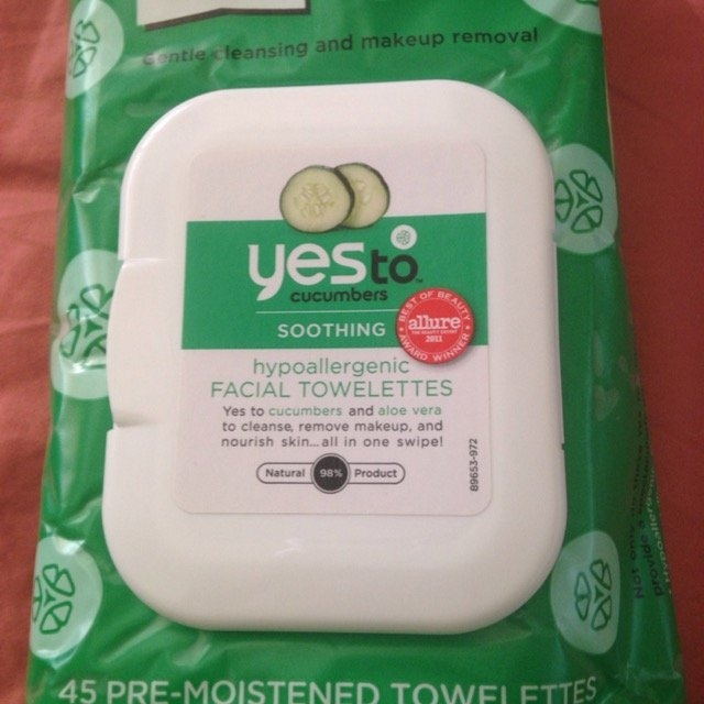 Yes To Cucumbers Hypoallergenic Facial Towelettes - 45 Ct uploaded by Stephanie D.