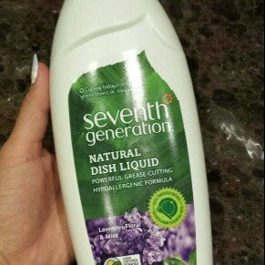 Seventh Generation Natural Dish Liquid Lavender, Floral & Mint uploaded by Laura B.