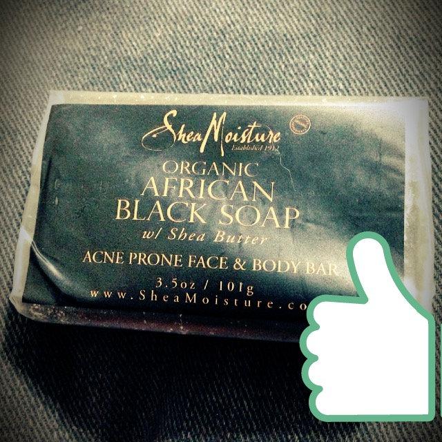 SheaMoisture African Black Soap Bar