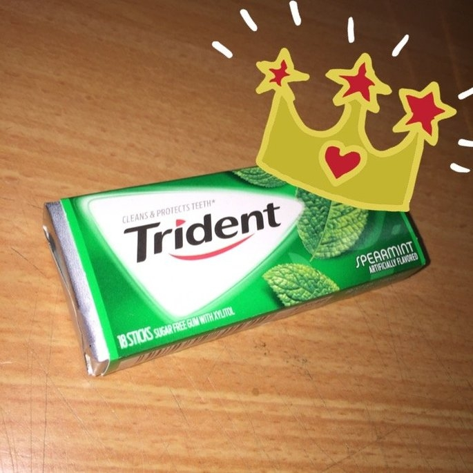 Trident Spearmint Sugar Free Gum uploaded by Lilibeth T.