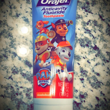Photo of Orajel Bubble Guppies Anticavity Fluoride Toothpaste, 2+ Years, Fin-tastic Fruit, 4.2 oz uploaded by Kimberly K.