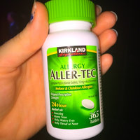 Kirkland Signature Aller-Tec Cetirizine Hydrochloride Tablets, 10 mg, 365 Count uploaded by Kimberly S.