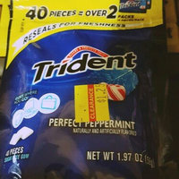Trident Perfect Peppermint Sugar Free Gum uploaded by Dina S.