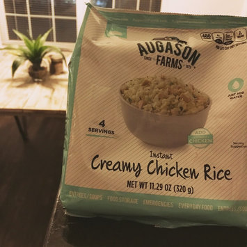 Photo of Augason Farms Instant Creamy Chicken Rice, 11.29 oz uploaded by Tanya J.