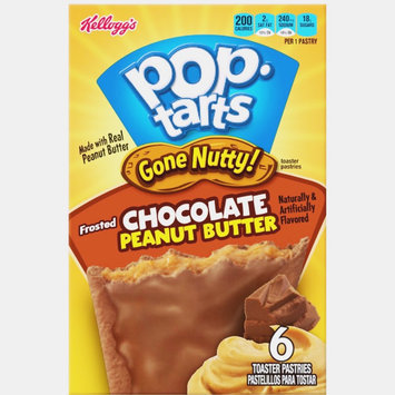 Photo of Kellogg's Pop-Tarts Gone Nutty Frosted Chocolate Peanut Butter uploaded by Amanda R.