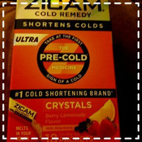 Zicam Ultra Berry Lemonade Cold Remedy Homeopathic Crystals - 18 Count uploaded by Donielle R.