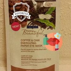 Photo of Freeman Beauty Feeling Beautiful Coffee & Chai Energizing Paper Eye Mask uploaded by Becky M.