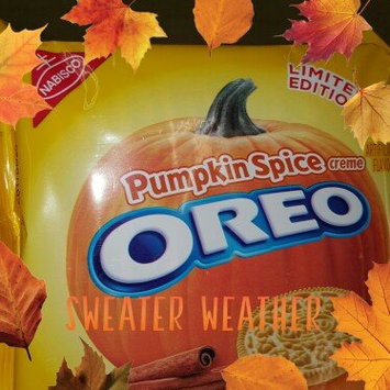 Photo of Nabisco Oreo Pumpkin Spice Creme Sandwich Cookies uploaded by Alicia H.
