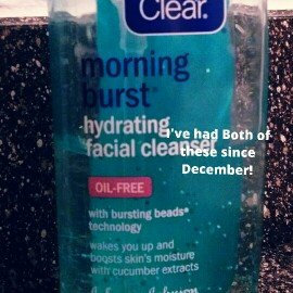 Photo of Clean & Clear® Morning Burst® Hydrating Facial Cleanser uploaded by Alleah H.