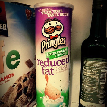 Pringles Reduced Fat Potato Chips Sour Cream & Onion Flavored uploaded by Pamela K.