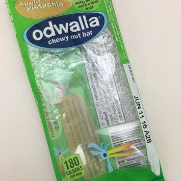 Odwalla Chewy Nut Bar Apple Toffee Pistachio 1.6 oz Wrapper uploaded by Samantha t.