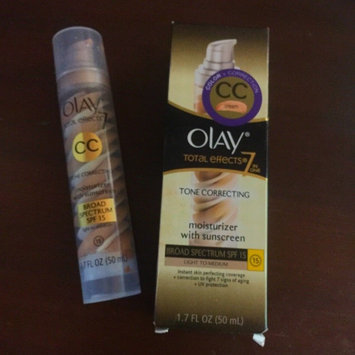 Photo of Olay Total Effects Tone Correcting CC Cream with SPF 15 Light To Medium uploaded by Lisa K.