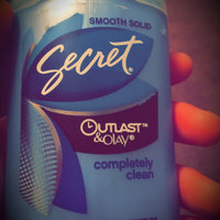 Secret Flawless Antiperspirant/Deodorant, Invisible Solid, Completely Clean, 2.6 oz. uploaded by Citlaly C.