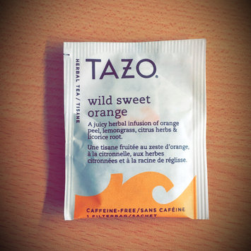 Photo of Tazo Wild Sweet Orange Herbal Tea uploaded by Lauren W.