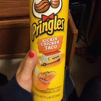 Pringles® Kickin' Chicken Taco Potato Crisps uploaded by Sally G.