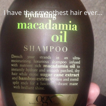 OGX Sulfate Free Hydrating Macadamia Oil Shampoo 13oz. uploaded by Christine M.