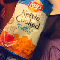 Lay's Kettle Cooked Sea Salt & Vinegar Flavored Potato Chips uploaded by Heidi N.