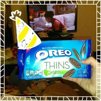 Oreo Thins Chocolate Sandwich Cookies uploaded by Christina K.