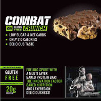 Muscle Pharm Combat Crunch Chocolate Chip Cookie Dough uploaded by Tiphanie U.